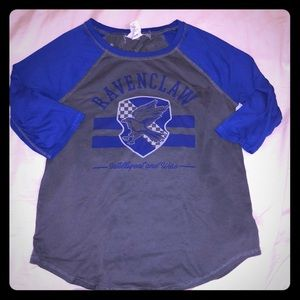 Harry Potter Ravenclaw Reversible Raglan